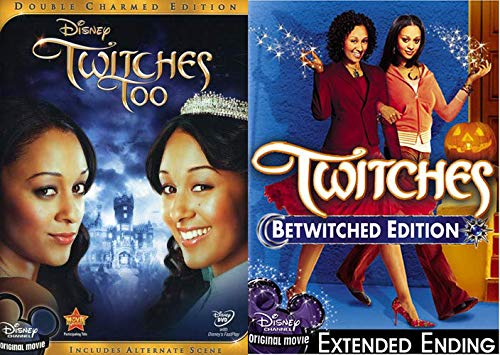 Bewitching Double Charmed Disney Twitches & Twitches Too 2 Features ()