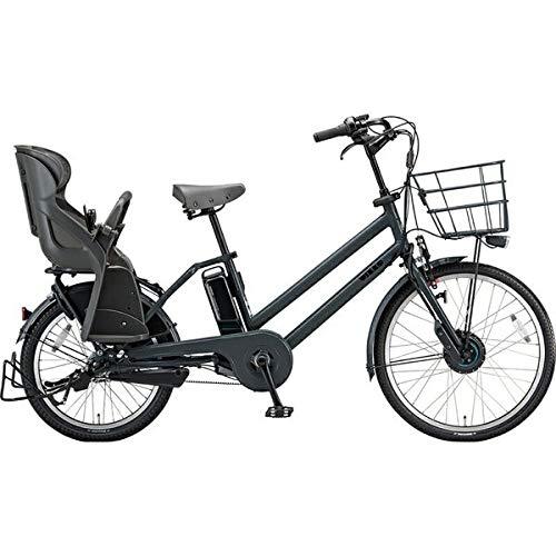 ブリヂストン 電動自転車 ビッケグリdd BG0B49 E.XBKダークグレー E.XBKダークグレー B07HWPJ63G