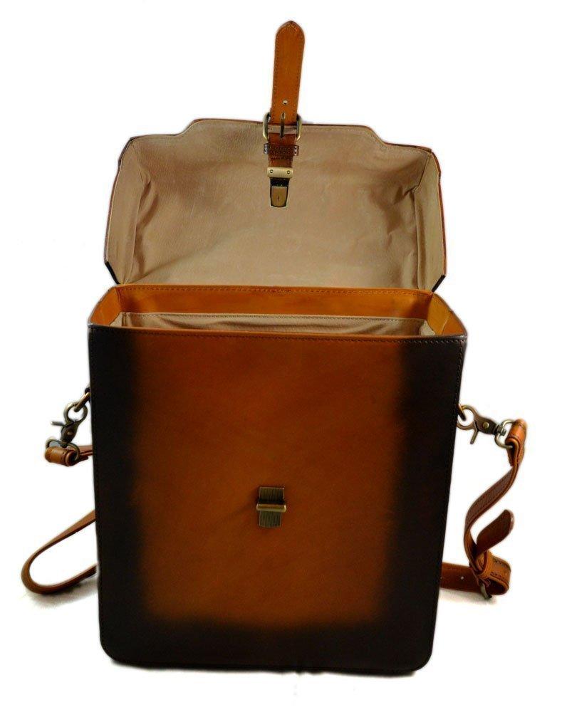 6c6e5b903fe2 Rigid leather bag camera leather satchel crossbody leather shoulder bag  rigid bottle bag brown vintage leather bag leather messenger  Amazon.co.uk   Handmade