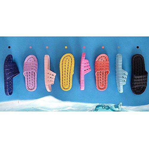 SUNAVY - Zapatillas de estar por casa para mujer Azul