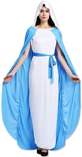 EVRYLON Costume Madonna Donna per Carnevale Halloween Ragazza