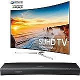 Samsung Curved 65-Inch 2160p Smart 4K SUHD LED TV - KS9500 9-Series (UN65KS9500FXZA) with Samsung 3D Wi-Fi 4K Ultra HD Blu-ray Disc Player