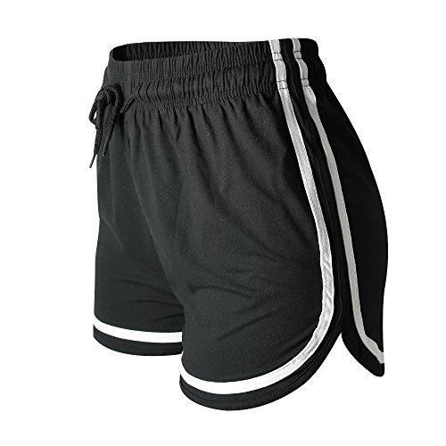 VALINNA Women's Athletic Yoga Running Workout Shorts Lounge Short Pants (L/XL (26