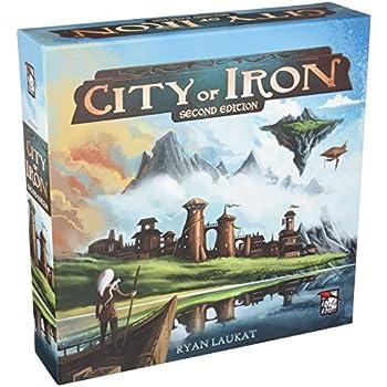 City of Iron 2E Board Game