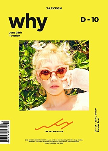 - SM Entertainment  TAEYEON/Why 2nd Mini Album CD with Photobook