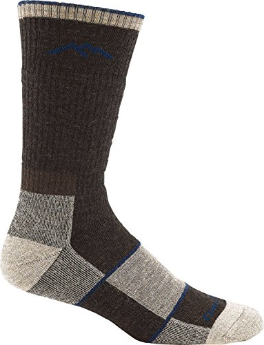 Darn Tough Vermont Merino Wool Boot Full Cushion Sock (Chocolate Large 10-12)