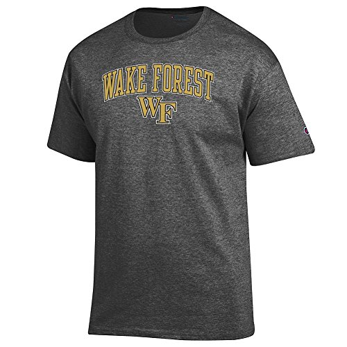 Elite Fan Shop Wake Forest Demon Deacons Tshirt Varsity Charcoal - M