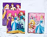 School Supplies- Princess''Dream'' 2 pk. Pocket Folders and Subject Notebook