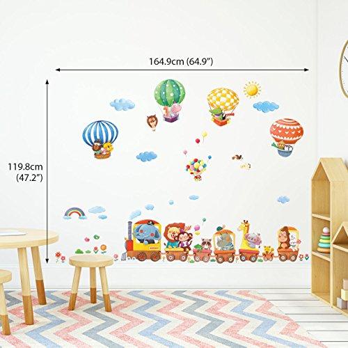 Owls Jungle Animals Wooden Bedroom Furniture Kids: ElecMotive Jungle Wild Animal Vinyl Wall Sticker Decals