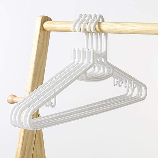 SAASNY The Hanger Store 20 Perchas Blancas De Plástico ...