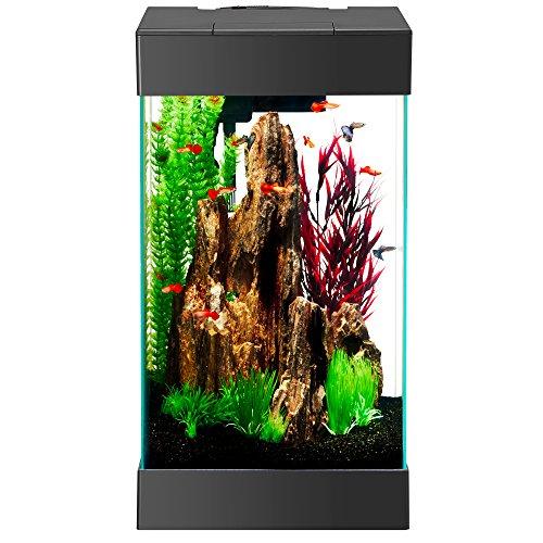 Aqueon 100533055 15 Led Column Aquarium Kit Best Fish Bowls