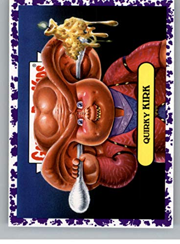 2019 Topps Garbage Pail Kids We Hate the '90s TV Sticker B-Names Jelly Non-Sport #14 QUIRKY KIRK Collectible Trading Card Sticker (Star Trek Deep Spa