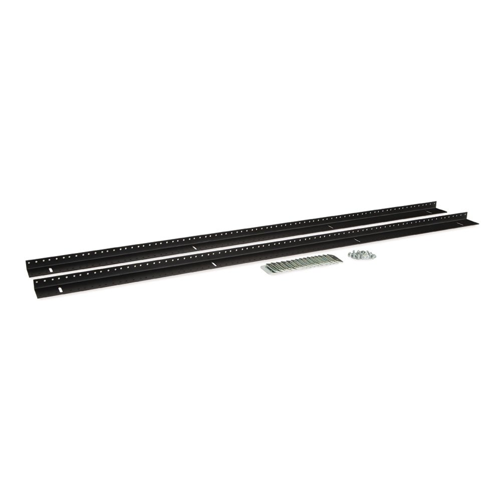 27U LINIER Server Cabinet Vertical Rail Kit - 10-32 Tapped