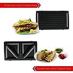 BOSS 501 Griller Toaster; 750-Watt; Changeable Grill & Toaster Plates