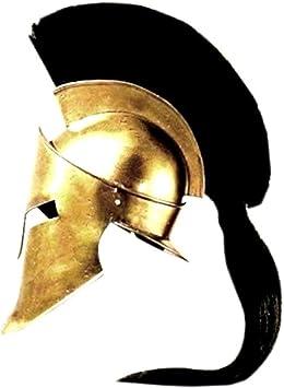 King Spartan Helmet Leonidas (disfraz): Amazon.es: Juguetes y juegos