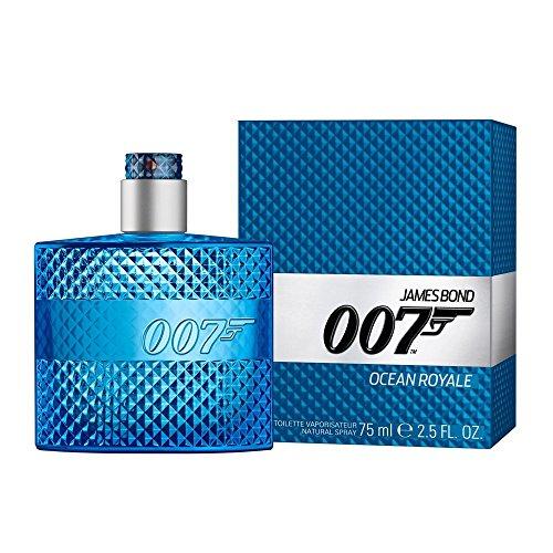 James Bond 007 Ocean Royale Eau de Toilette Spray for Men, 2.5 Ounce