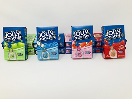 Singles to Go! Jolly Rancher 4-Flavor Mega-Pack with 12 Boxes (72 total servings)! Contains 3 Boxes (18 servings) of each flavor: Blue Raspberry, Cherry, Green Apple, Watermelon]()