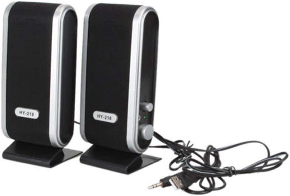 Sunday Haut-Parleur Filaire USB st/ér/éo Jack 3,5 mm Audio pour Ordinateur Portable PC Mac