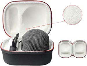 Travel Case for Apple HomePod Mini Smart Audio, EVA Hard Shell Dustproof and Shockproof Carrying Case