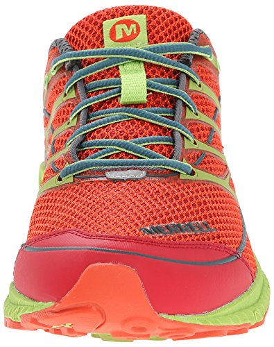 Merrell Mens Mix Master Move 2 Trail Running Shoe Haute Red/Lime Green YMyTNYhYu