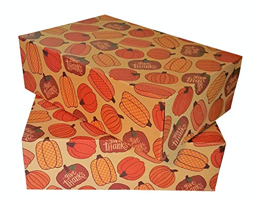 Fall Party Thanksgiving Take Home Take Out Leftovers Doggie bag Box - Set of 4 containers