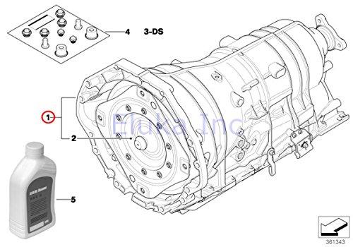 BMW Genuine Automatic Transmission W/ Torque Converter Ga6Hp26Z-Qp Rebuilt 750i 750Li