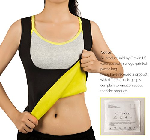 Women Hot Sweat Vest Neoprene Sauna Vest For Weight Loss Tummy Fat Burner Slimming Shapewear Hot Thermo Body Shaper Sweat Tank Top Black No Zip - Suit Shape A Design