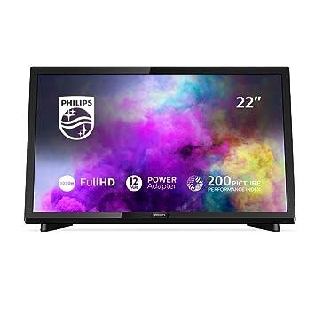 Philips 22pfs540312 55 Cm 22 Zoll Full Hd Fernseher Triple Tuner