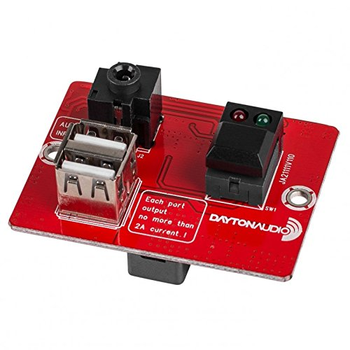 dayton audio power amp - 8