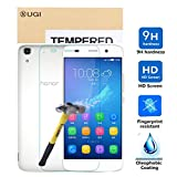 Huawei Y6 screen protector, KuGi ® Ultra-thin 9H Hardness High Quality HD clear Premium Tempered Glass Screen Protector for Huawei Y6 smartphone (1ps)