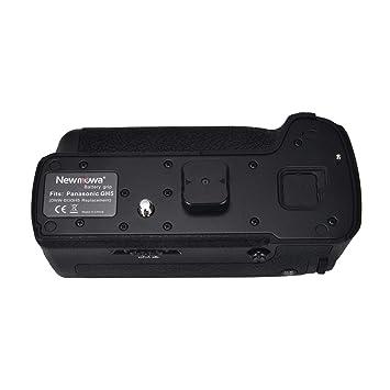 Newmowa Mango de Repuesto Battery Grip para Panasonic GH5 Cámara ...