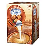 International Delight 827965 Liquid Non-Dairy Coffee Creamer, Hazelnut, 0.4375 oz Cups, 192 Cups/CT