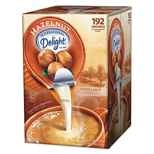 International Delight 827965 Liquid Non Dairy Coffee Creamer Hazelnut 0 4375 Oz Cups 192 Cups Ct Amazon Com Grocery Gourmet Food