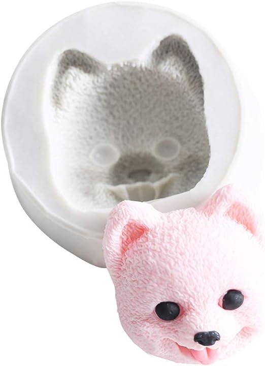 3D Sleeping Cat Kitty Silicone Fondant Mould Chocolate Sugarcraft Cake Mold DIY
