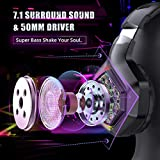 ONIKUMA Gaming Headset for PS5, PS4, Xbox Series