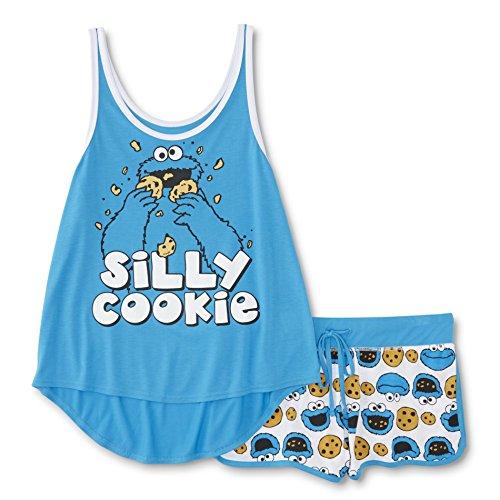 Sesame Street Cookie Monster Womens