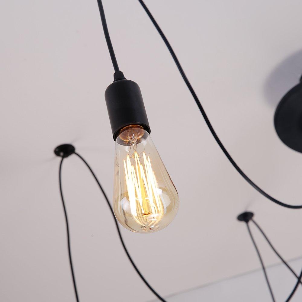... Lampe Suspension Style Industriel Luminaire DIY Edison Ampoule Vintage  Agrandir l image b3acad27126a