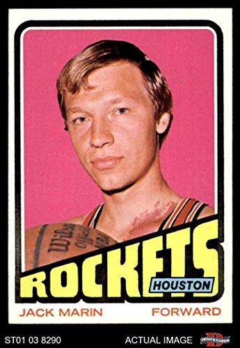1972 Topps # 70 Jack Marin Houston Rockets (Basketball Card) Dean's Cards 6 - EX/MT Rockets (Jack Quick Rocket)