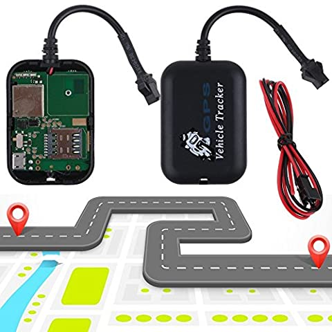 Mini Realtime Car Tracker Locator GPS/GSM/GPRS Tracking Device Vehicle/Truck/Van (Horse Tooth Necklace)