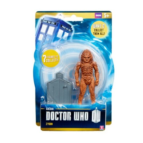 "Doctor Who Wave 2 - ZYGON - 3.75"" Figure - Ages 5+"