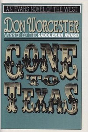 Gone to Texas (Evans Novel of the West)