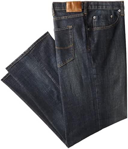 Lee Men's Big-Tall Modern Series Custom-Fit Relaxed Straight-Leg Jean