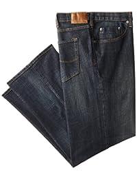 Lee Mens Big-Tall Big-Tall Modern Series Custom-fit Relaxed Straight-Leg Jean