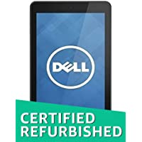 (Renewed) Dell Venue 8 Tablet with Folio Case (32GB, WiFi, 3G), Black