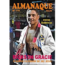 Rickson Gracie Signed Almanaque Photo Book Magazine Pride UFC Vale Tudo - PSA/DNA Certified - Autographed UFC Magazines