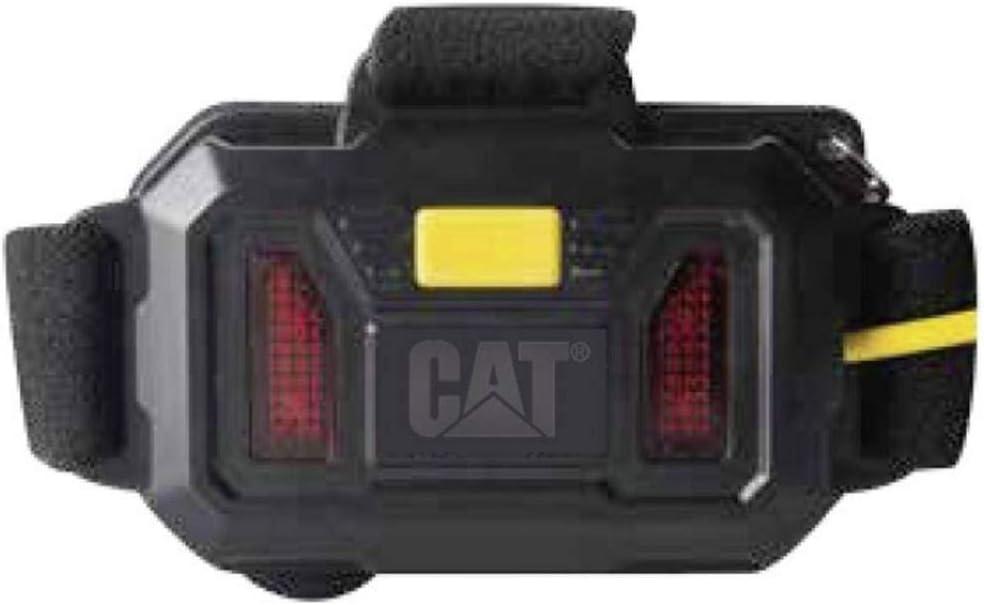 CAT CT4120 Linterna de banda LED Negro Amarillo linterna