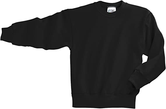 I Love Heart Rams Black Sweatshirt