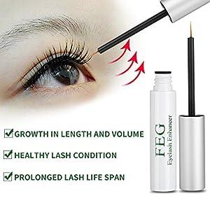 Eyelash Growth Serum, Eye Lash Eyebrow Growth Enhancer Serum for Long Luscious Natural Lashes and Brows Boost By BigHouse