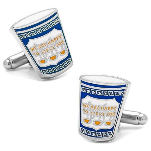 Greek Link (Cufflinks, Inc. Greek Coffee Cufflinks)
