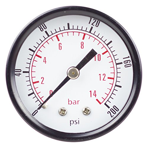 PneumaticPlus PSB20 200 Pressure Gauge Center product image